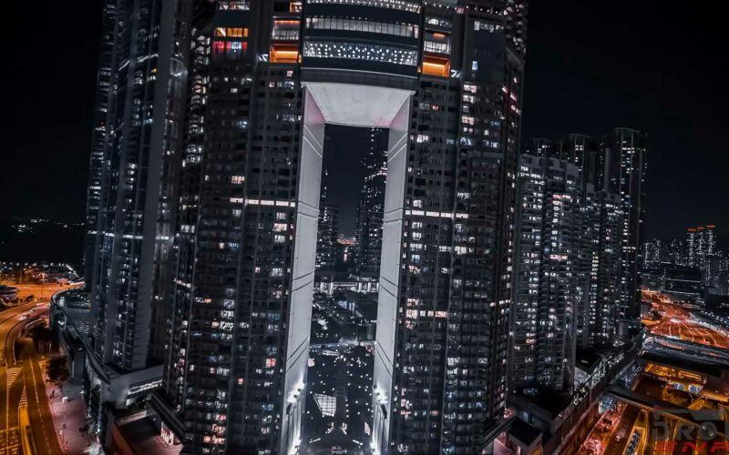 Drohnen-Aufnahmen von Hong Kong in 4K