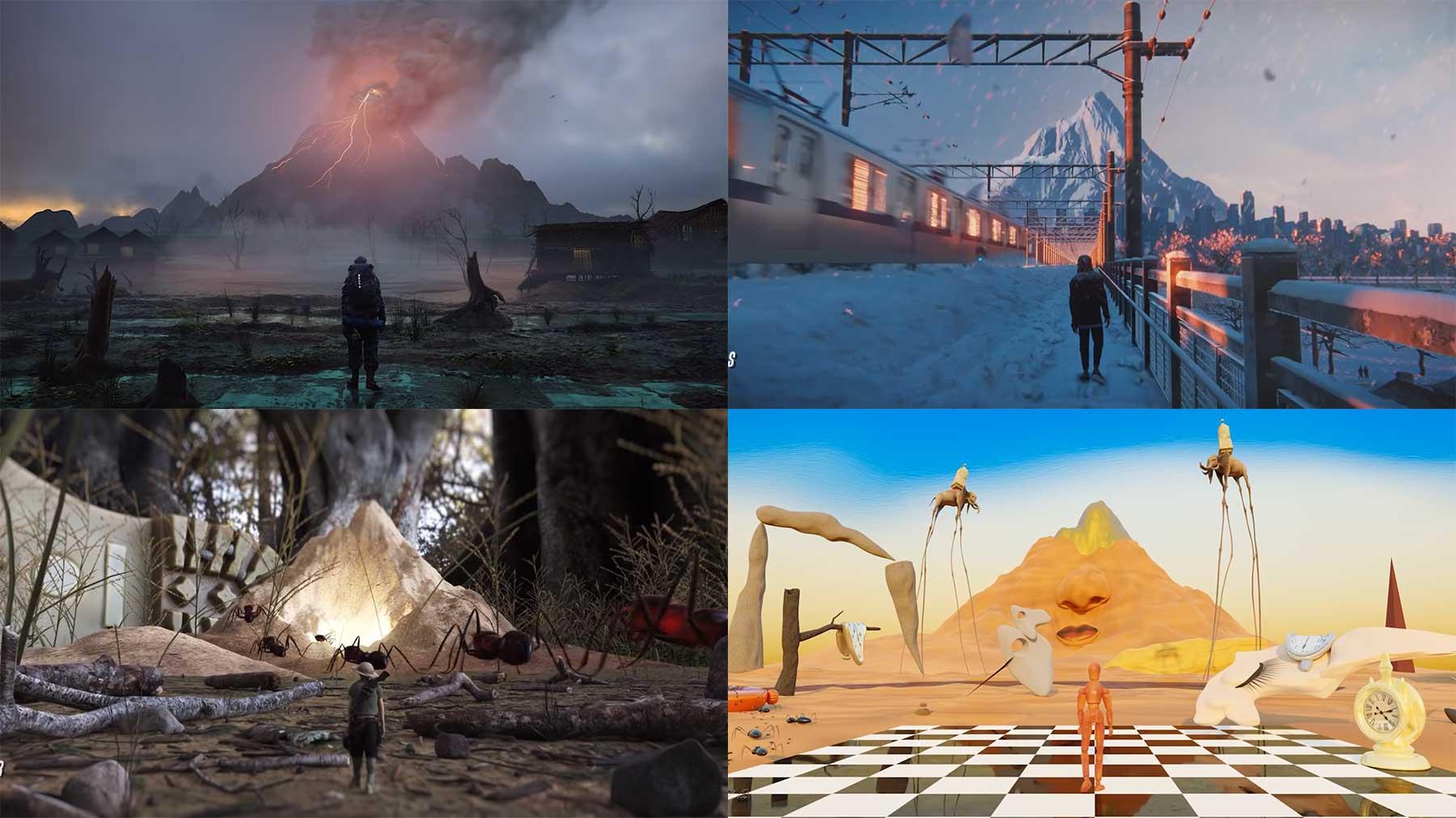 """Kollanimation: 125 CGI Artists erstellen """"Parallel Dimensions"""" kollaborations-animation-parallel-dimensions"""