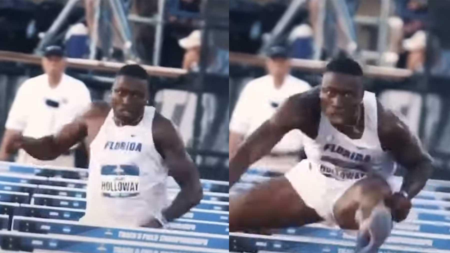 Stabilisierter Hürdenläufer