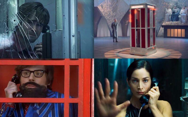 Telefonzellen in Filmen und Fernsehen