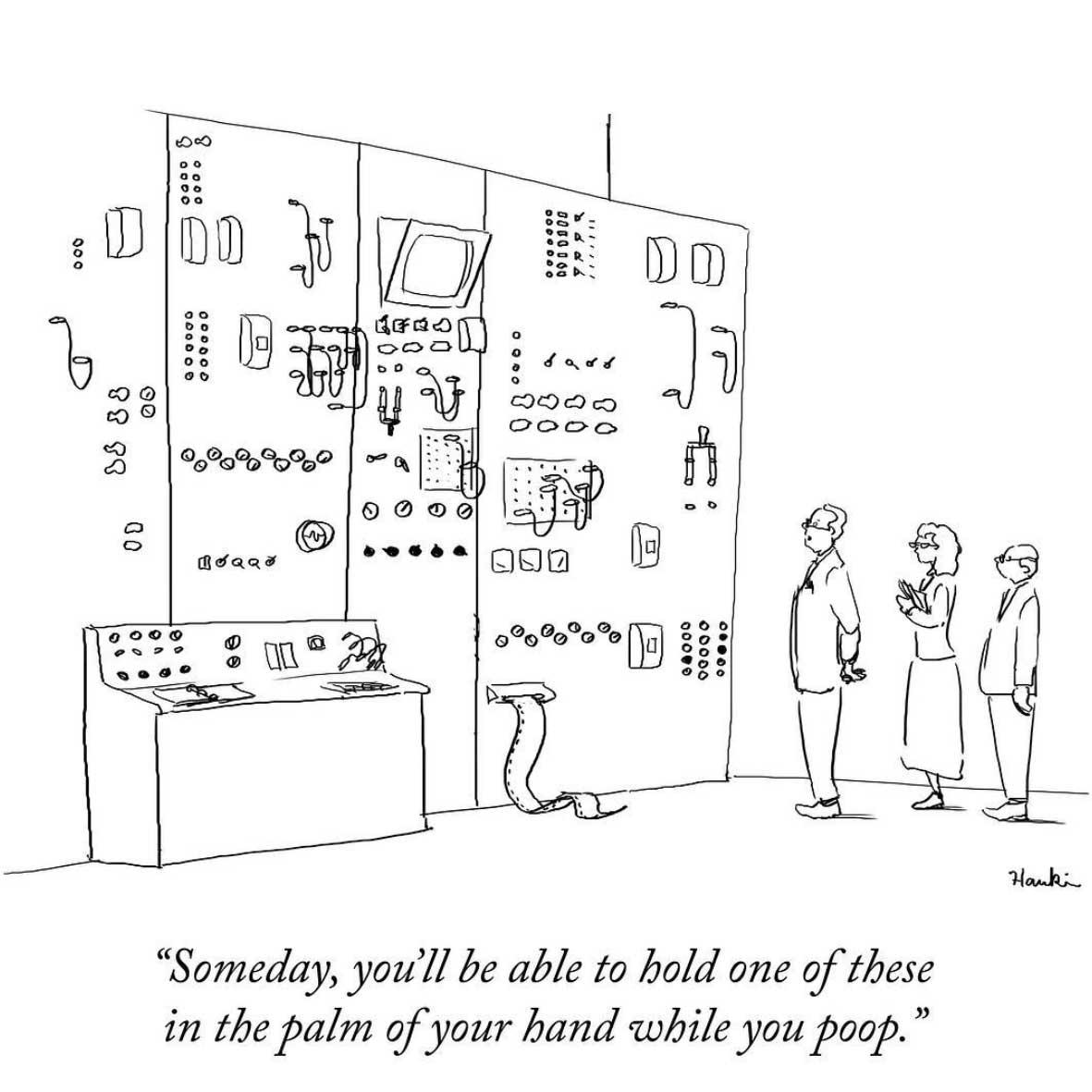 Lustige One-Panel-Comics von Charlie Hankin
