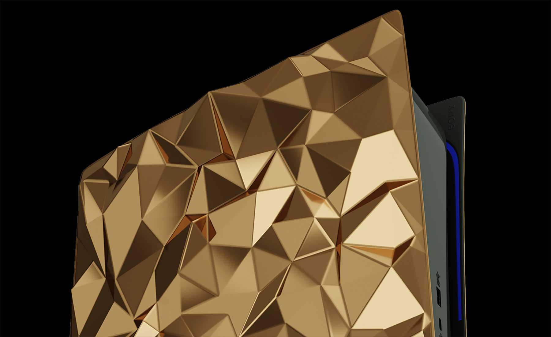 PlayStation 5: Luxus-Konsole mit 20kg Gold verziert