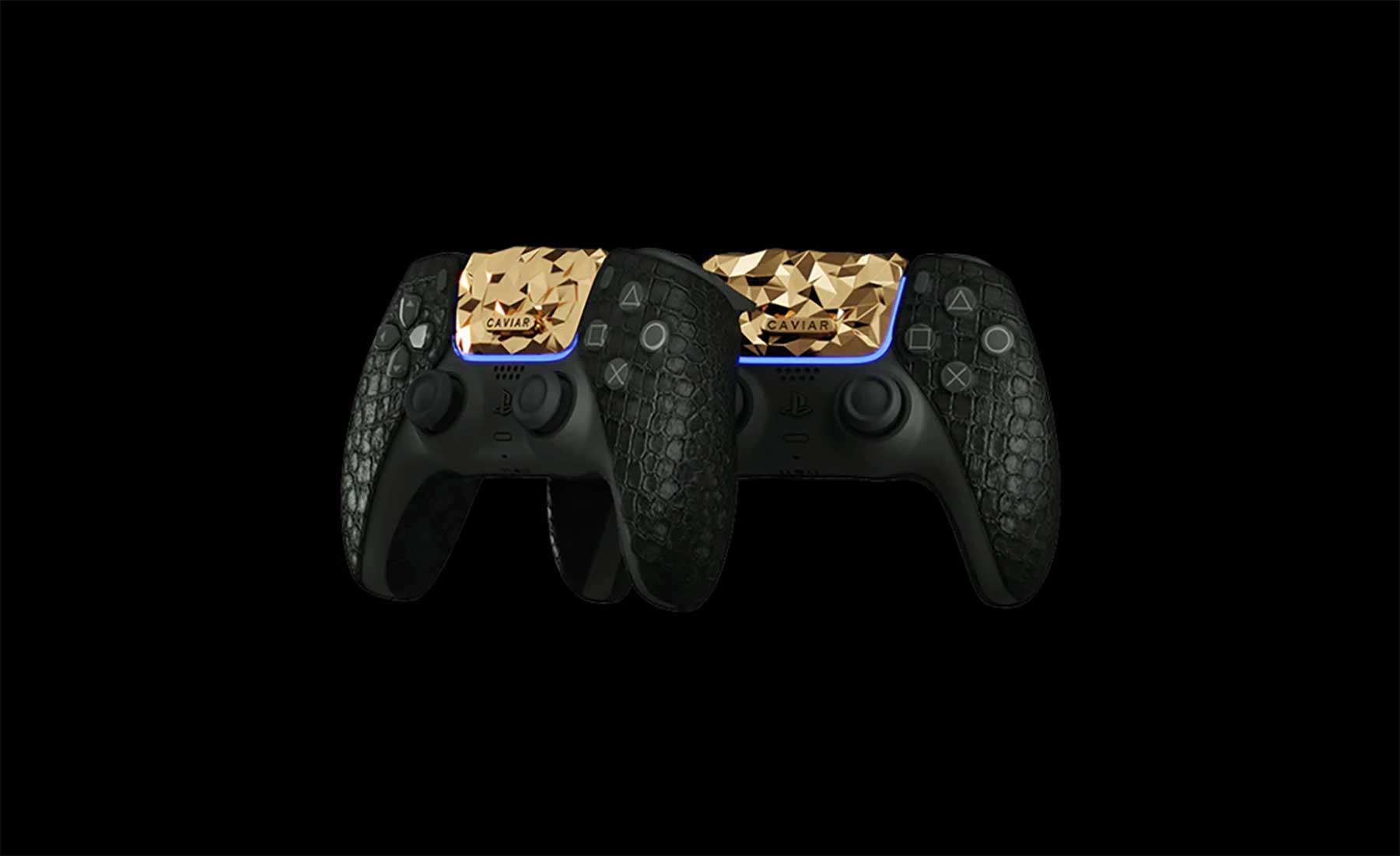 PlayStation 5: Luxus-Konsole mit 20kg Gold verziert Goldene-PlayStation-5-Konsole_02