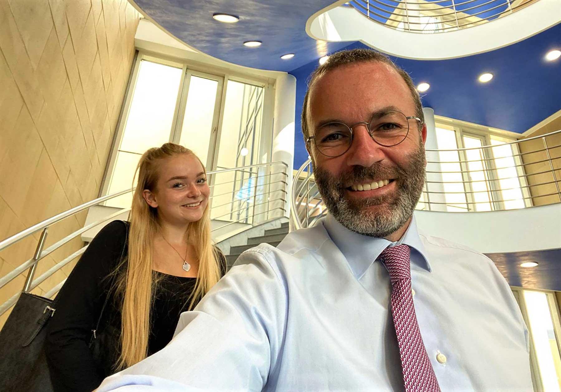 Gedanken einer 18-Jährigen: 2020 und meine Selbstmotivation Manfred-Weber-EVP