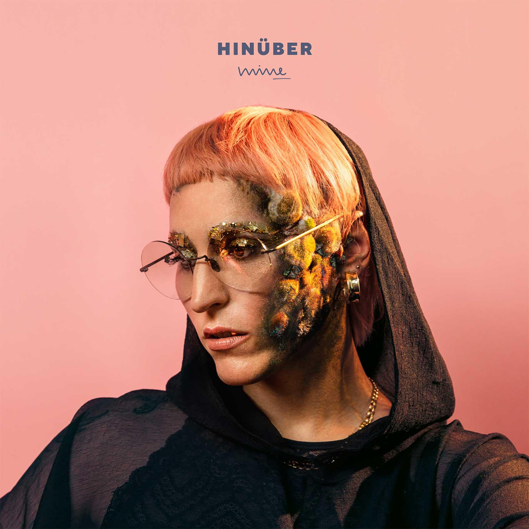"""Mine veröffentlicht neue Single """"Unfall"""" nur als Text mit Noten Mine-Hinueber-Albumcover"""