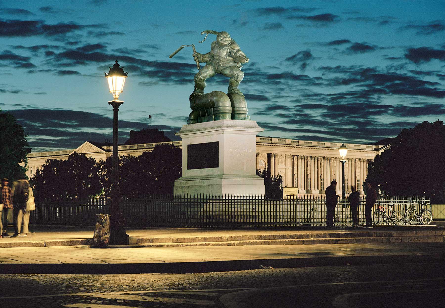 Popkulturen-Statuen Monuments_Benoit-Lapray_01