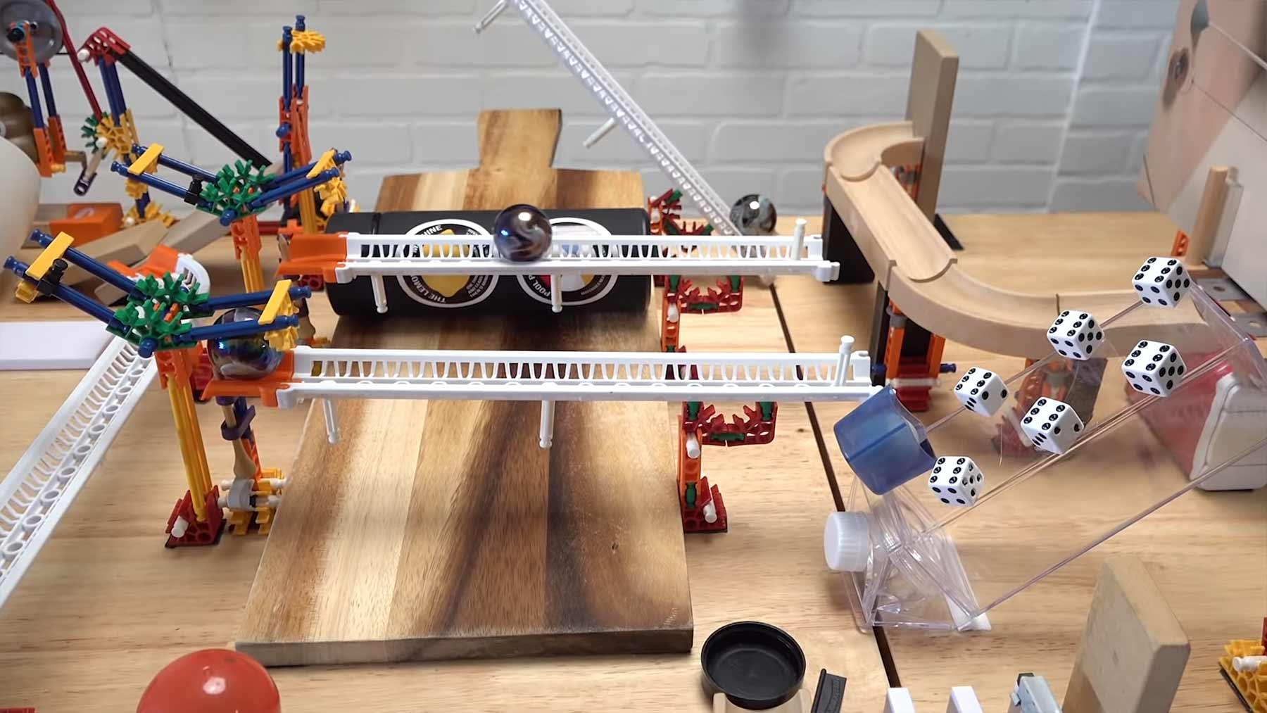 Die komplizierteste Trickshot-Rube-Goldberg-Machine überhaupt