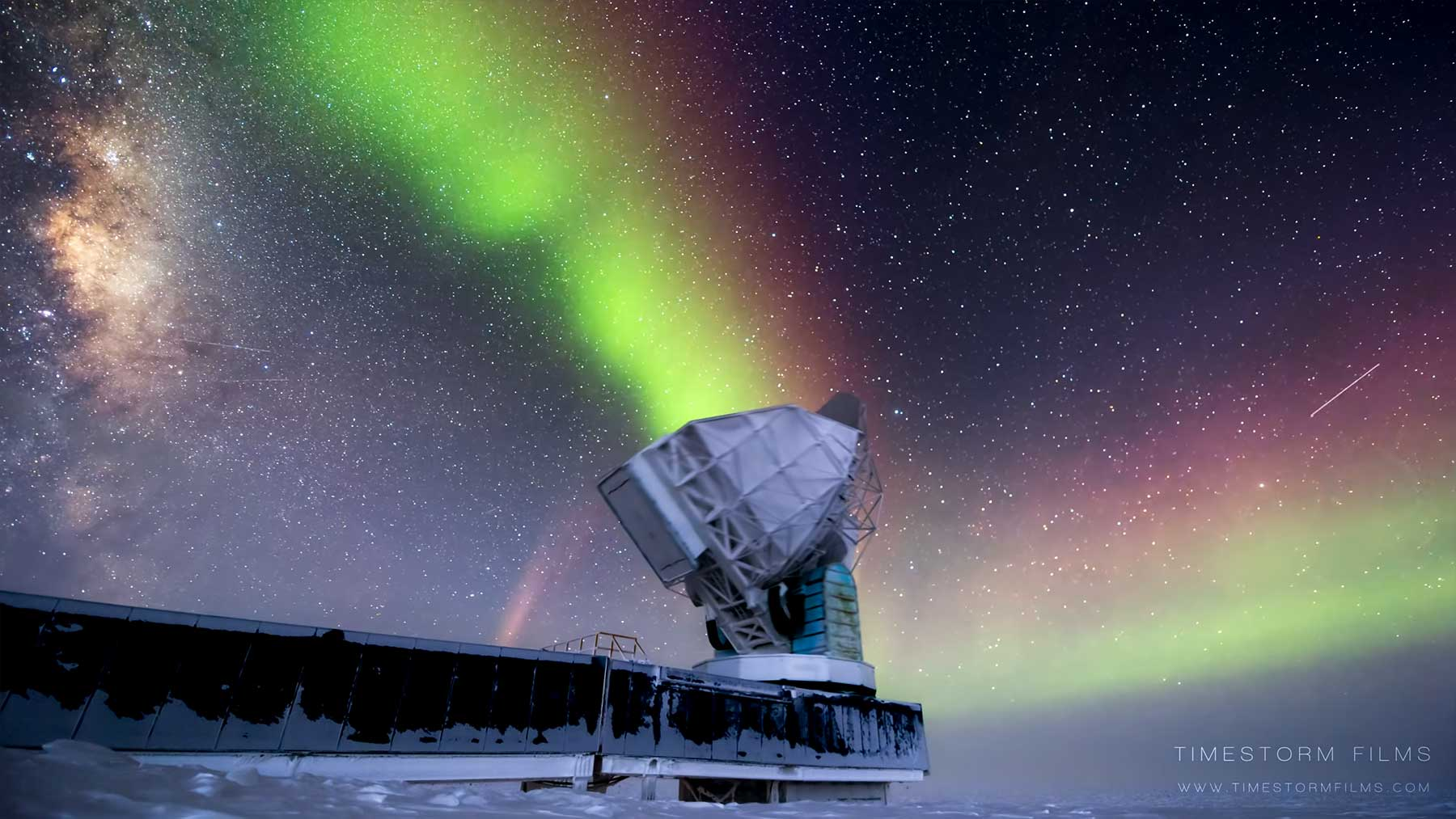 Timelapse: Polarlichter am Antarktis-Himmel SOUTH-POLE-NIGHT-IN-ANTARCTICA