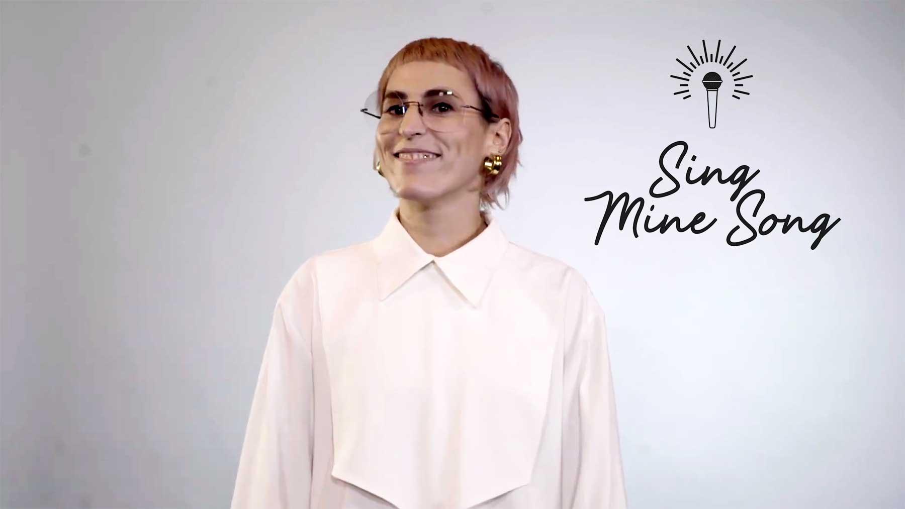 """Mine veröffentlicht neue Single """"Unfall"""" nur als Text mit Noten"""