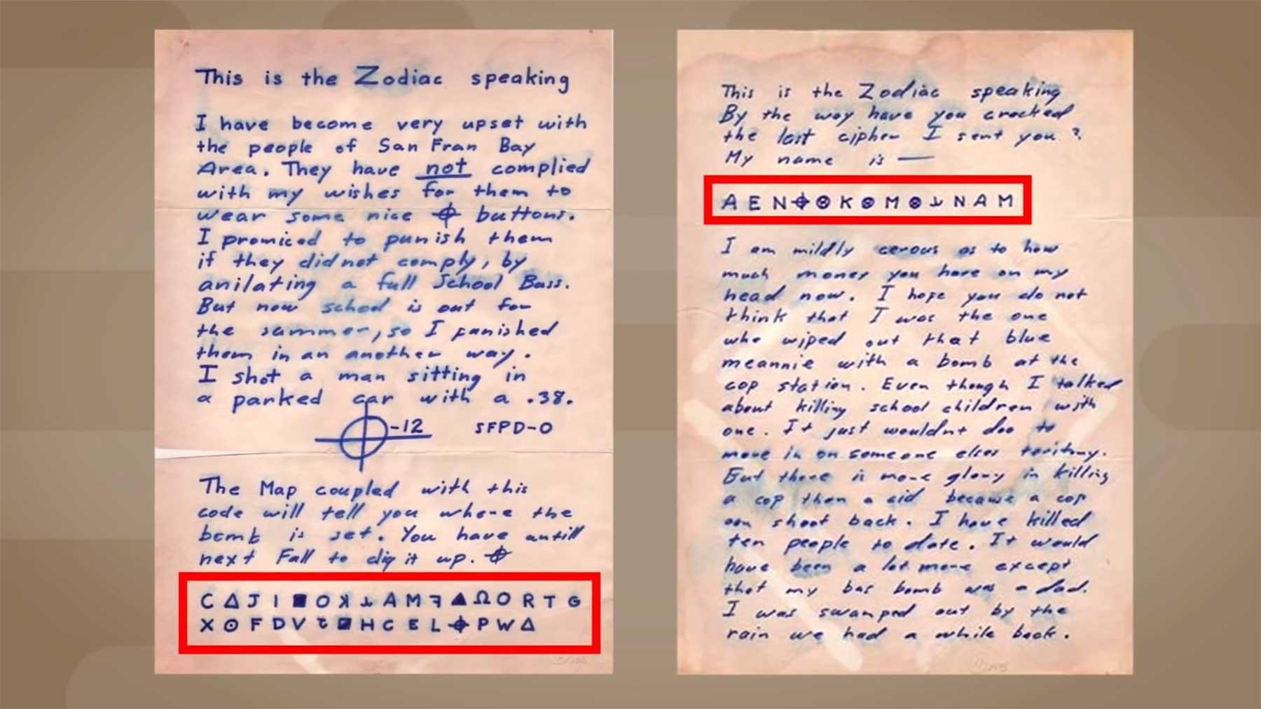 Nach 51 Jahren wurde der Code des Zodiac-Killers entschlüsselt