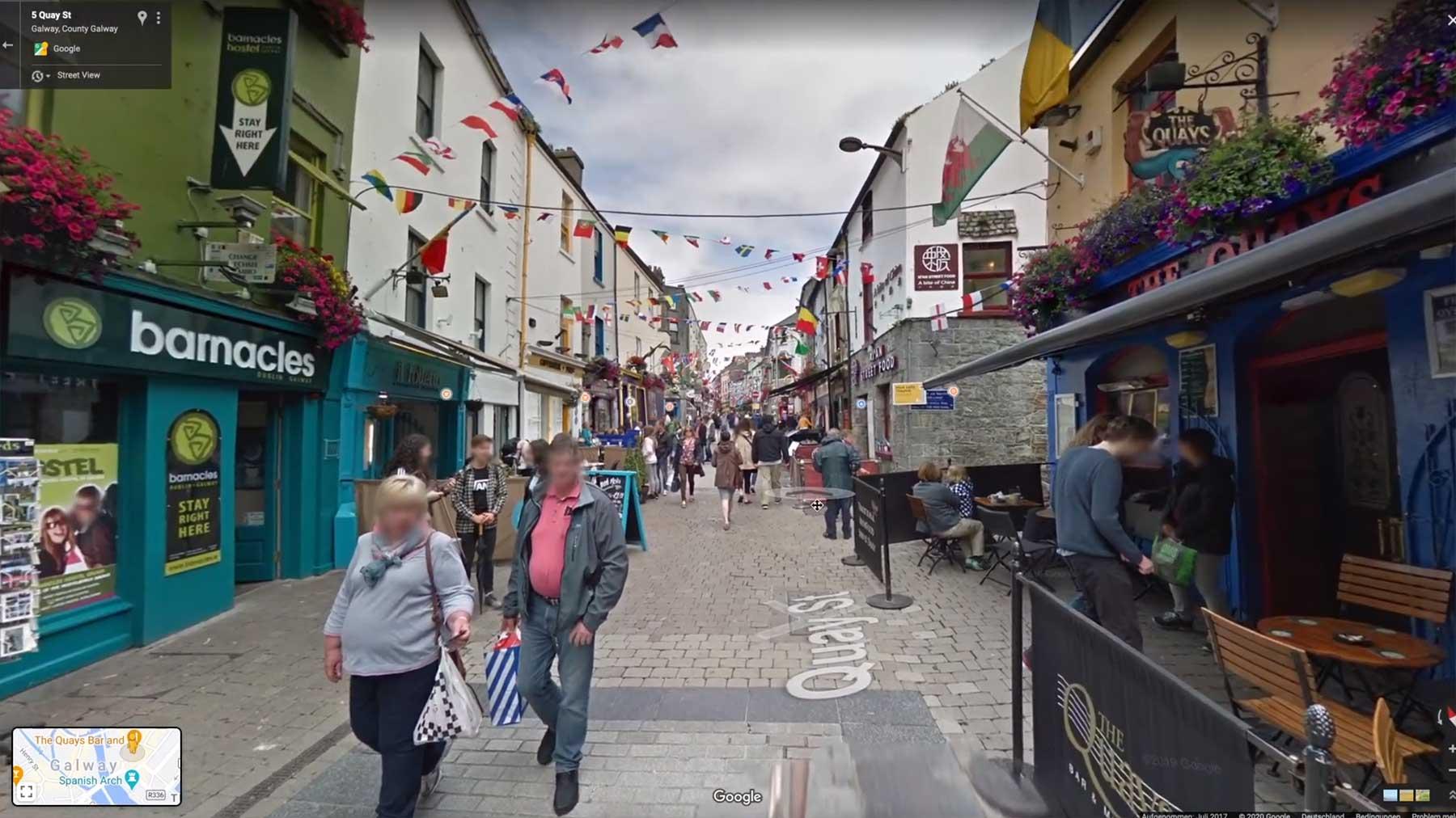 Fernwehklicker: Virtuell nach Galway (Irland)