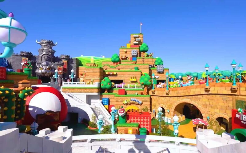 "Trailer zum ""Super Nintendo World""-Freizeitpark"