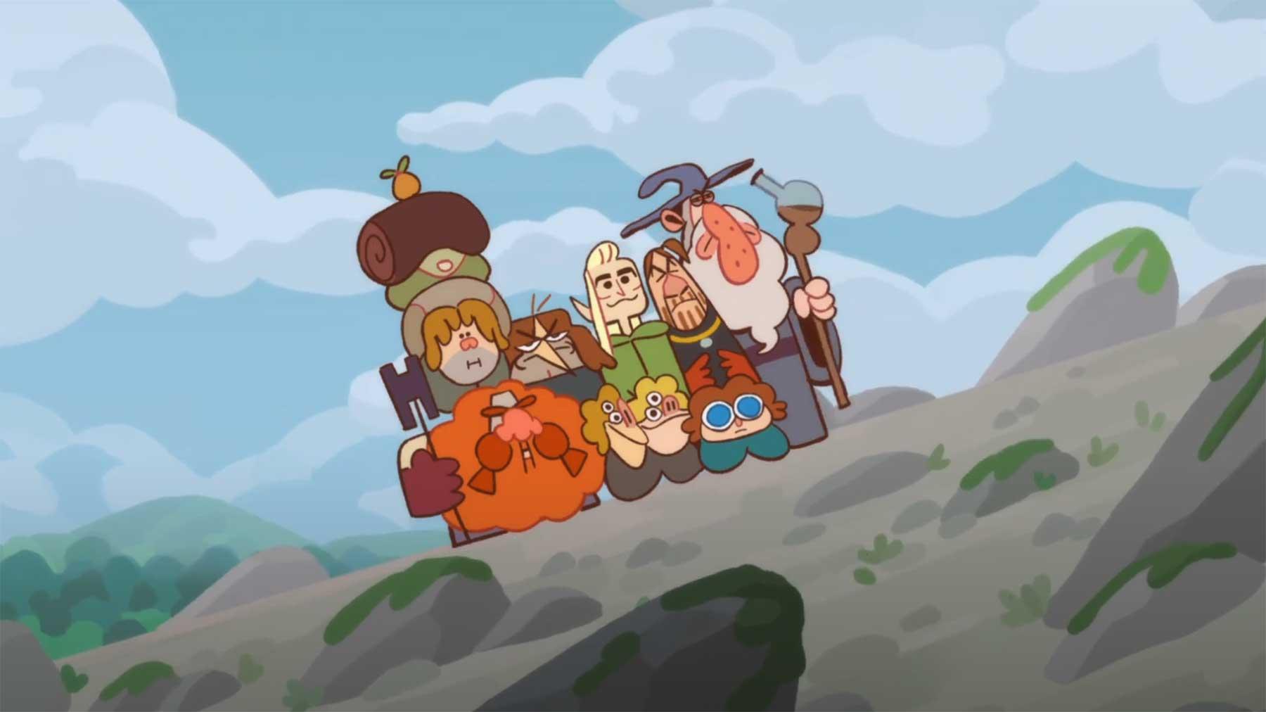 """Animierte """"Der Herr der Ringe""""-Zusammenfassung"""