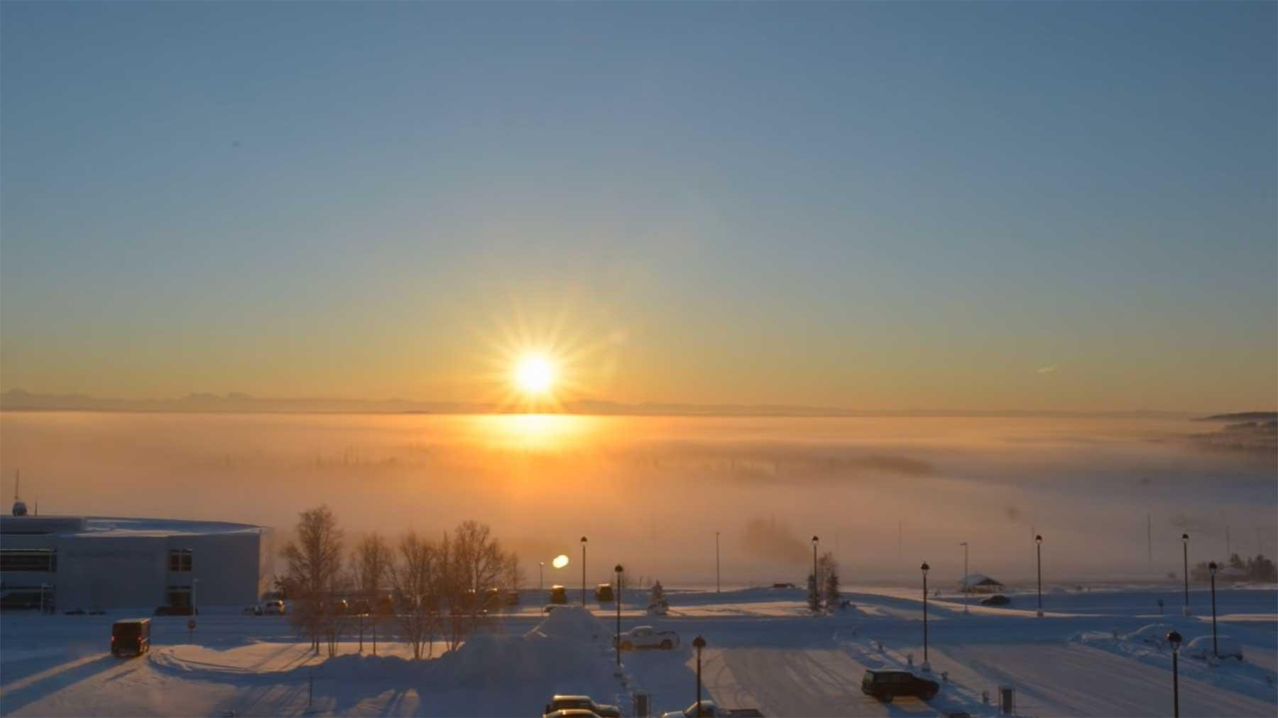 Timelapse: Die Wintersonnenwende in Alaska