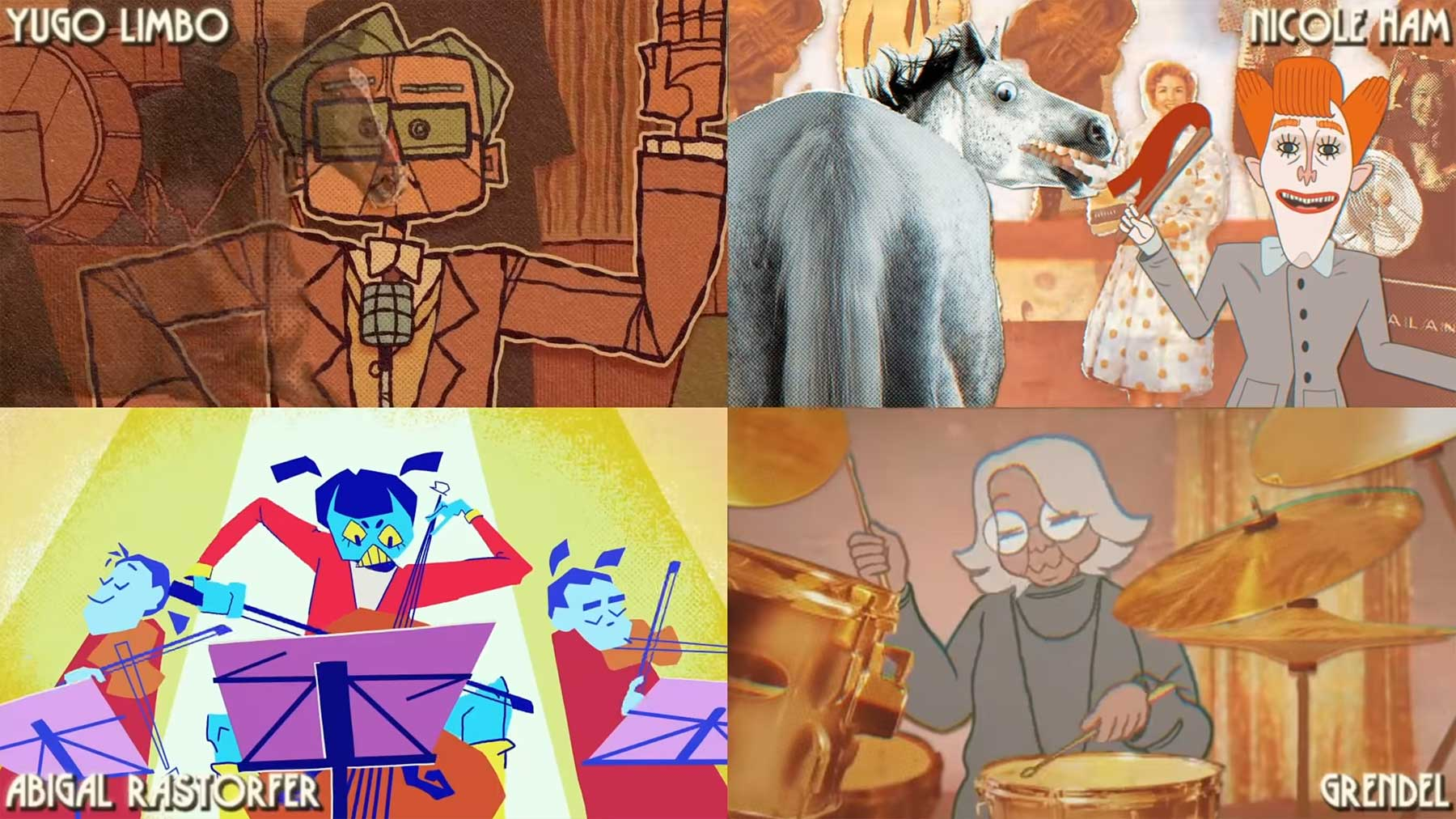 """70 Künstler*innen animierten Musikvideo zu """"Frontier Psychiatrist"""" nach Frontier-Psychiatrist-Reanimated"""