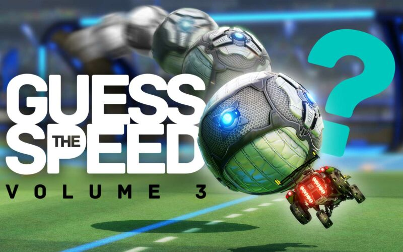 Rocket League: Guess the Speed 3
