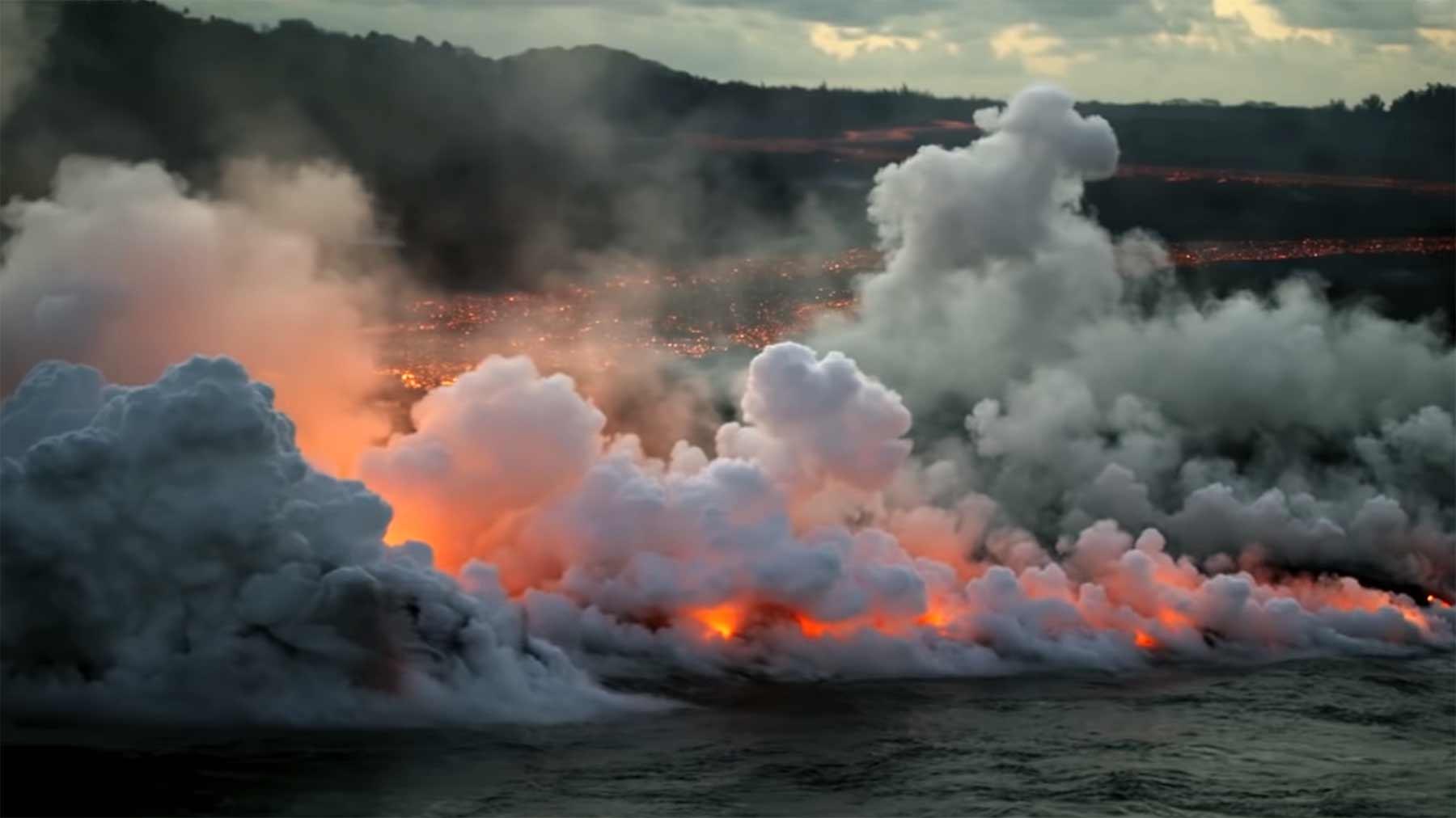 Krasse Aufnahmen vom Ausbruch des Vulkans Kīlauea
