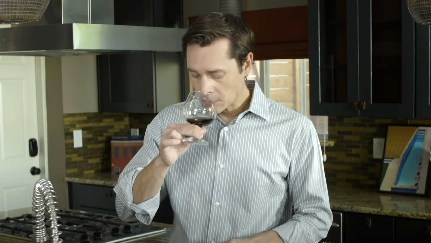 Wein-Connaisseur verkostet Jägermeister