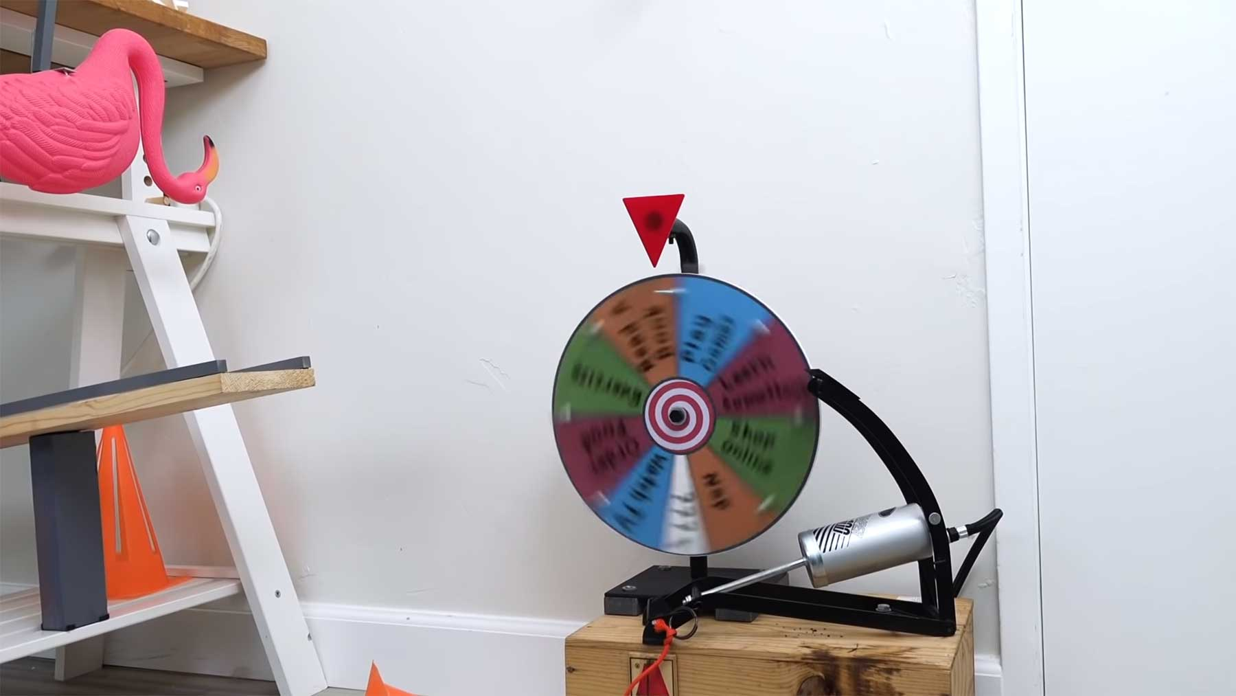 Anti-Langeweile-Kettenreaktion boredom-cure-machine