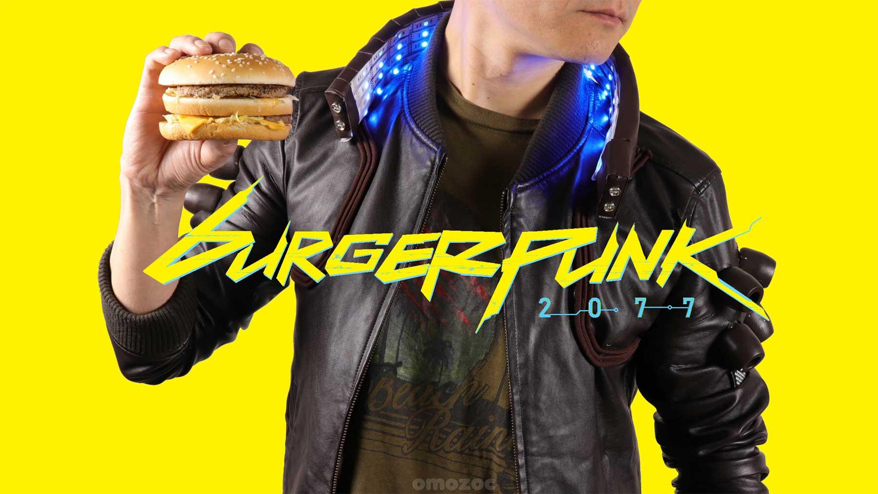 "omozoc-Stopmotion: ""Burgerpunk 2077"""