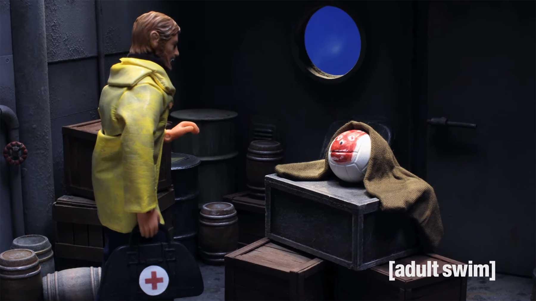 """Robot Chicken: """"Cast Away 2"""" – Die Wilson-Fortsetzung"""