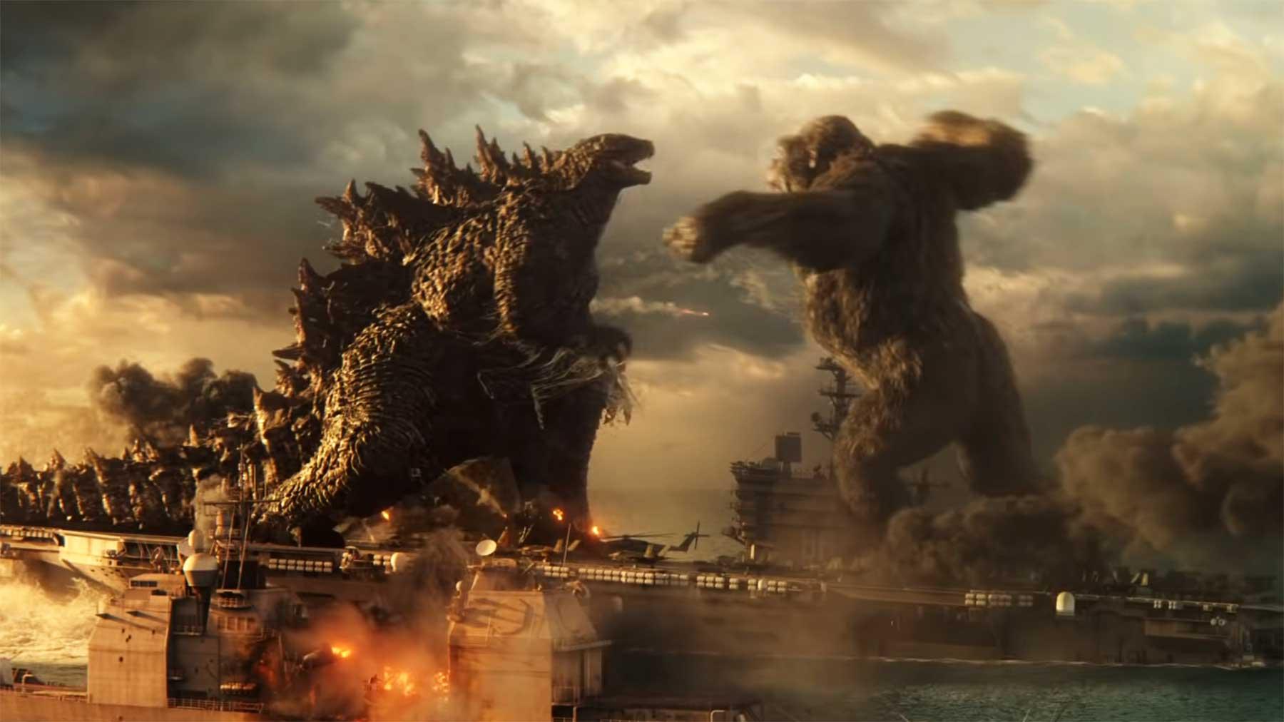 "Erster Trailer zum Kinofilm ""Godzilla vs. Kong"""