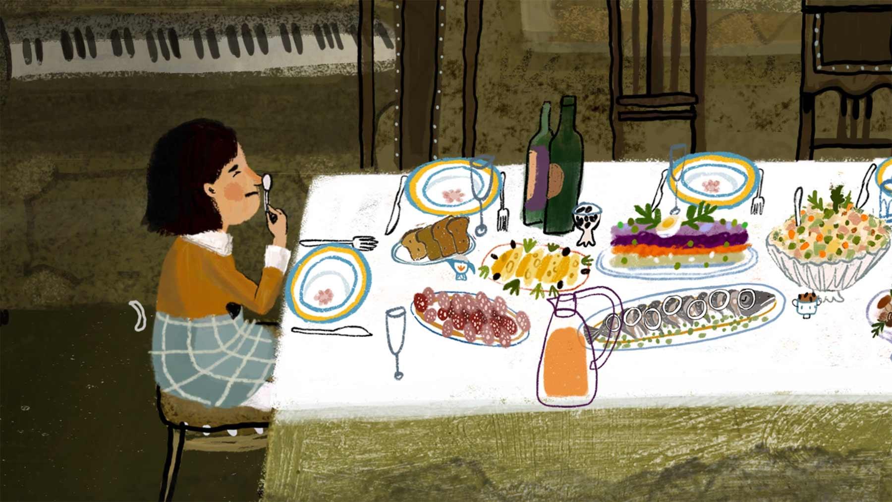 "Animierter Kurzfilm: ""MERRY GRANDMAS"""