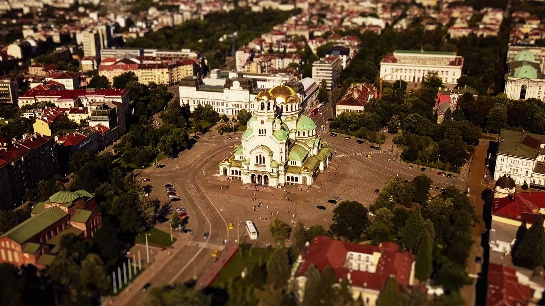 "Tilt-Shift-Video: ""Some Sofia!"""