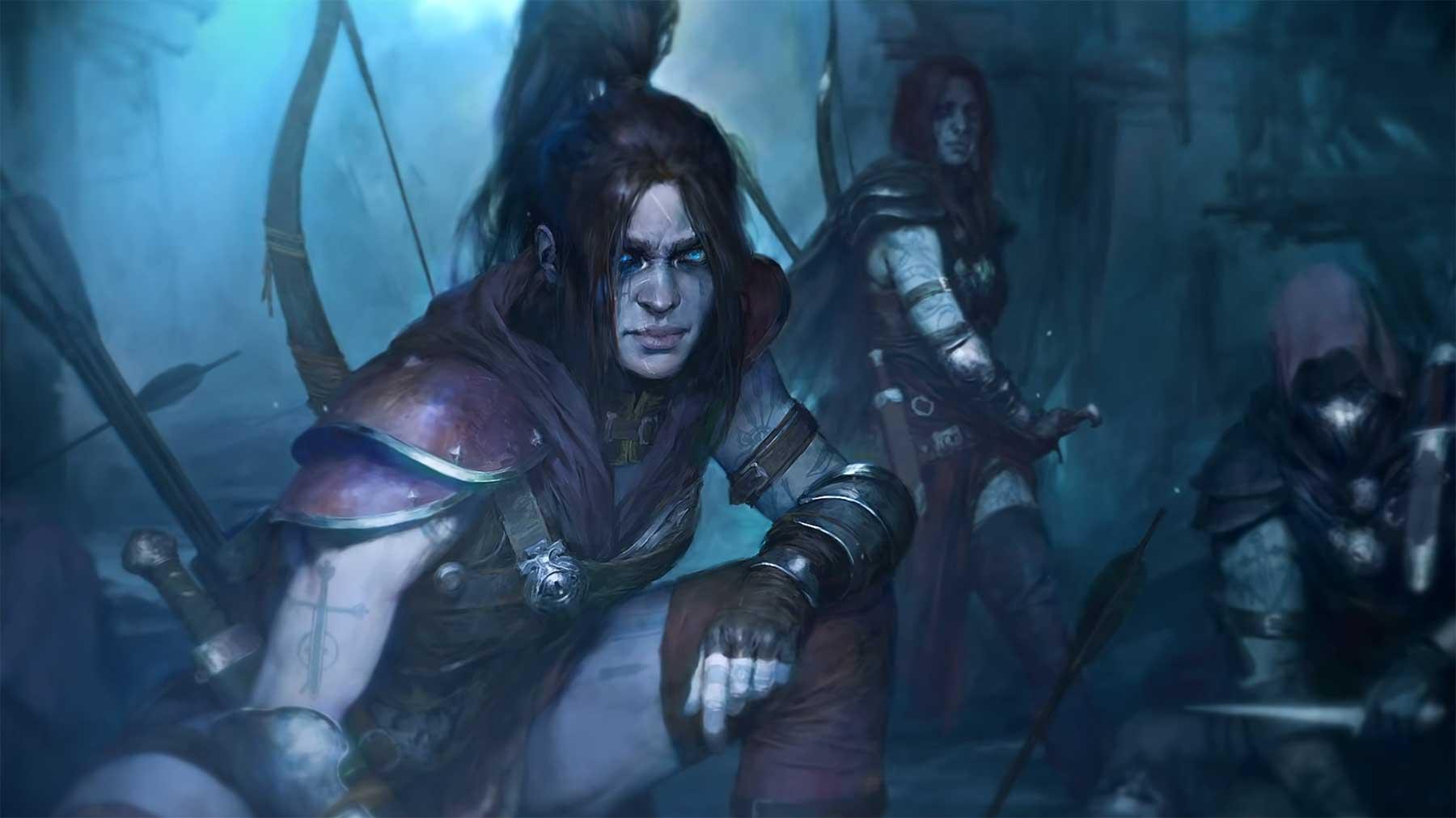 """""""Diablo IV"""" - Rogue Announce Trailer Diablo-IV-Rogue-Charakter"""