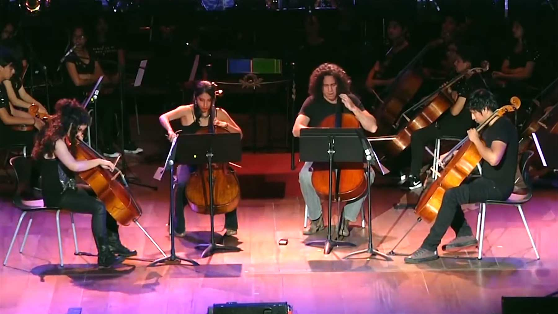 Epic Cello Quartet spielt Nirvana, Iron Maiden und System of a Down