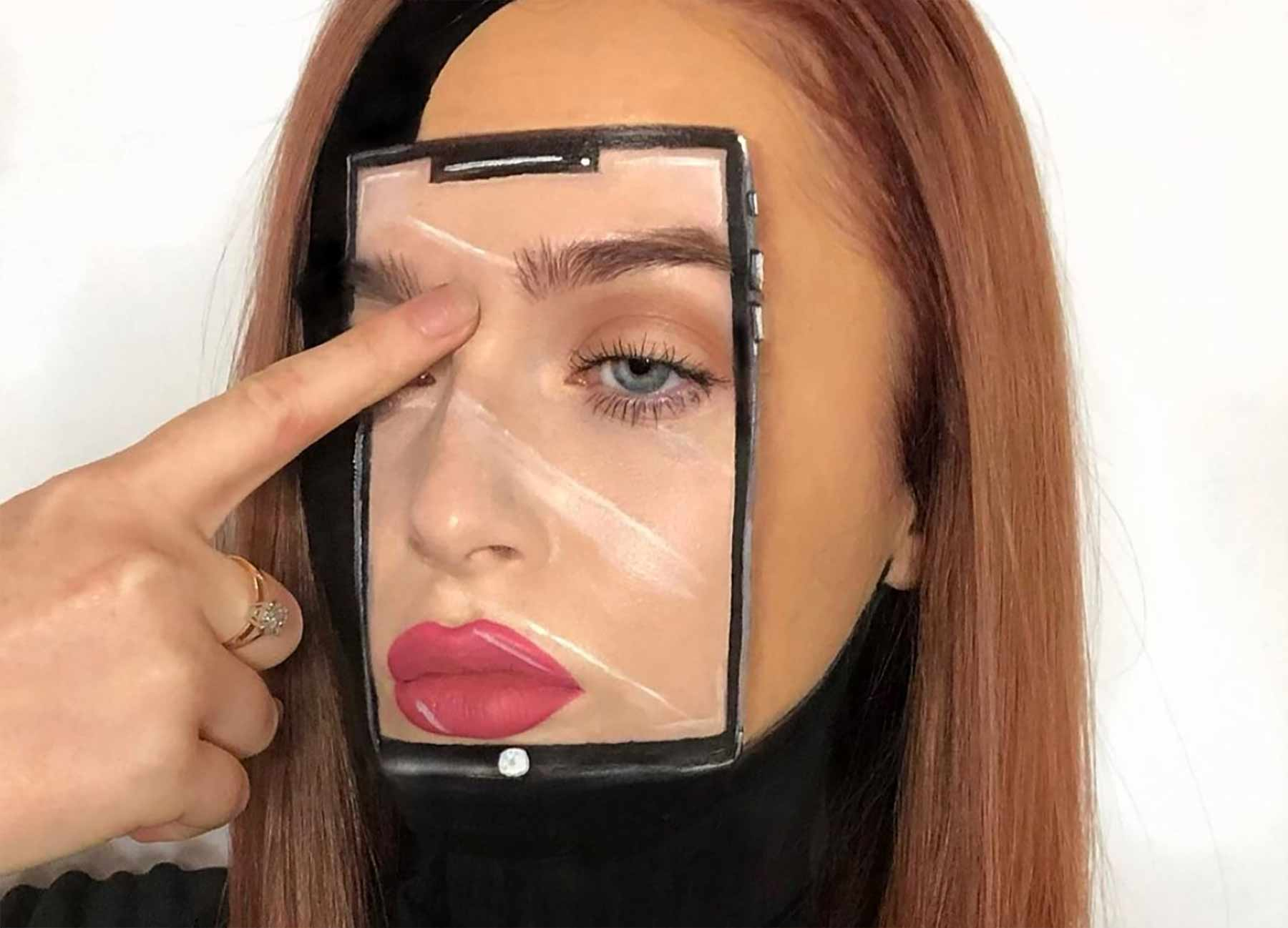 Make-up-Kunst von Nicky Hill