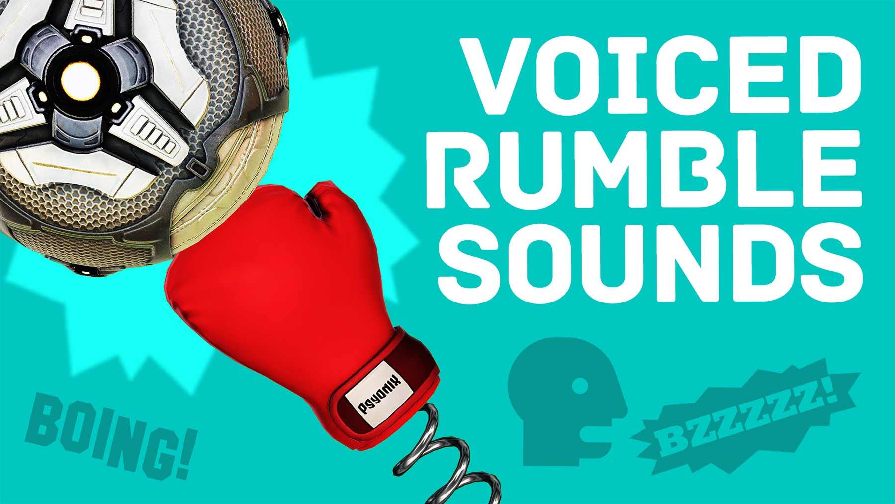 """Ich habe mit dem Mund die Geräusche aus """"Rocket League"""" Rumble nachgemacht"""