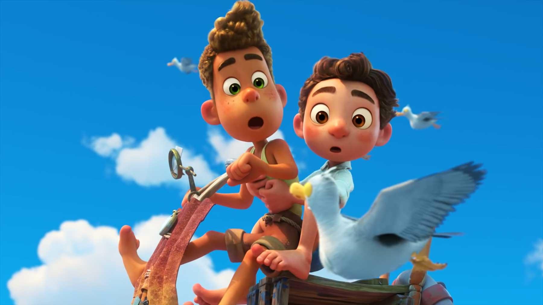 """Teaser-Trailer zum neuen Disney-Pixar-Film """"Luca"""""""