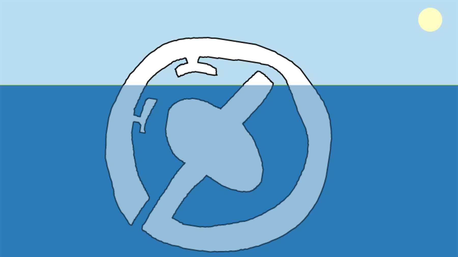 Eisberg im Browser zeichnen und sehen, wie er schwimmen würde