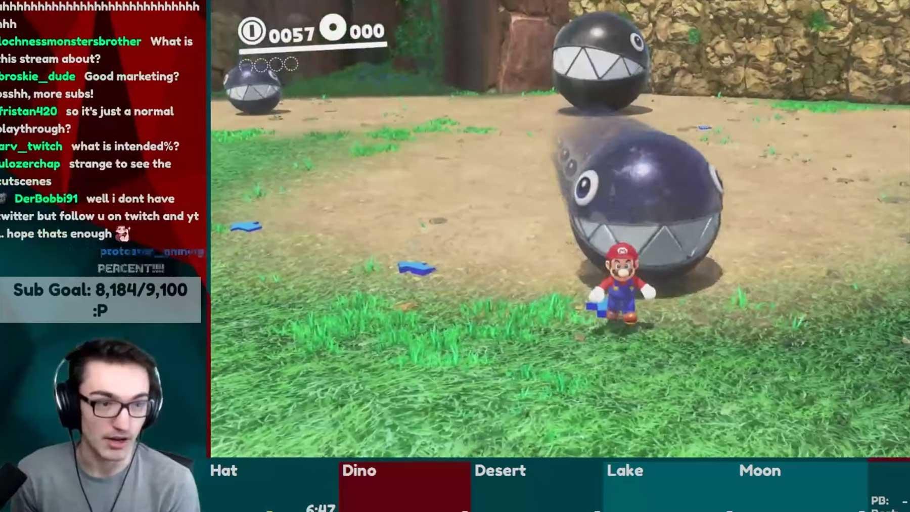 """""""Mario Odyssey""""-Speedrun komplett im Assistenz-Modus"""