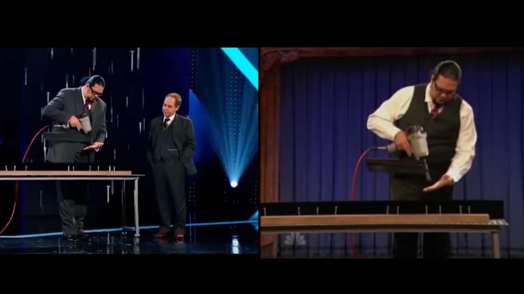 So perfekt on time bringen Penn & Teller ihre Tricks auf die Bühne