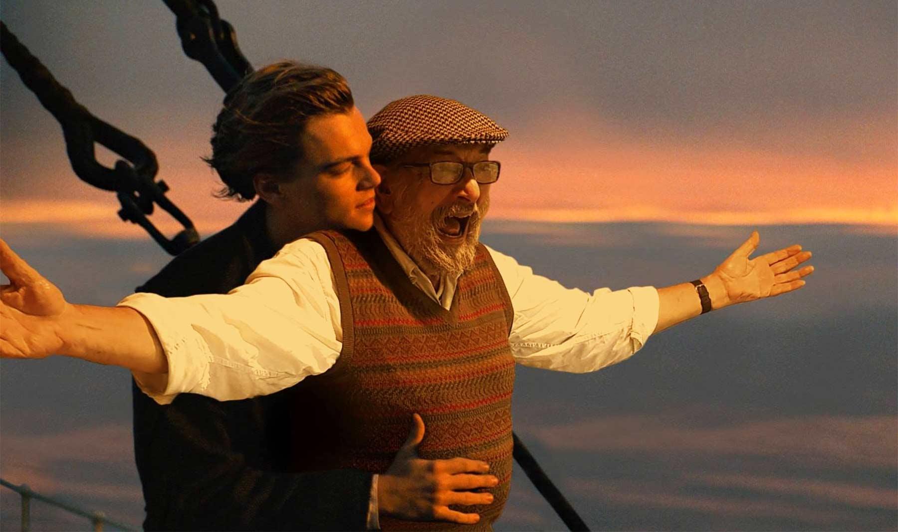 Matt Bonito photoshoppt seinen Vater in berühmte Szenen