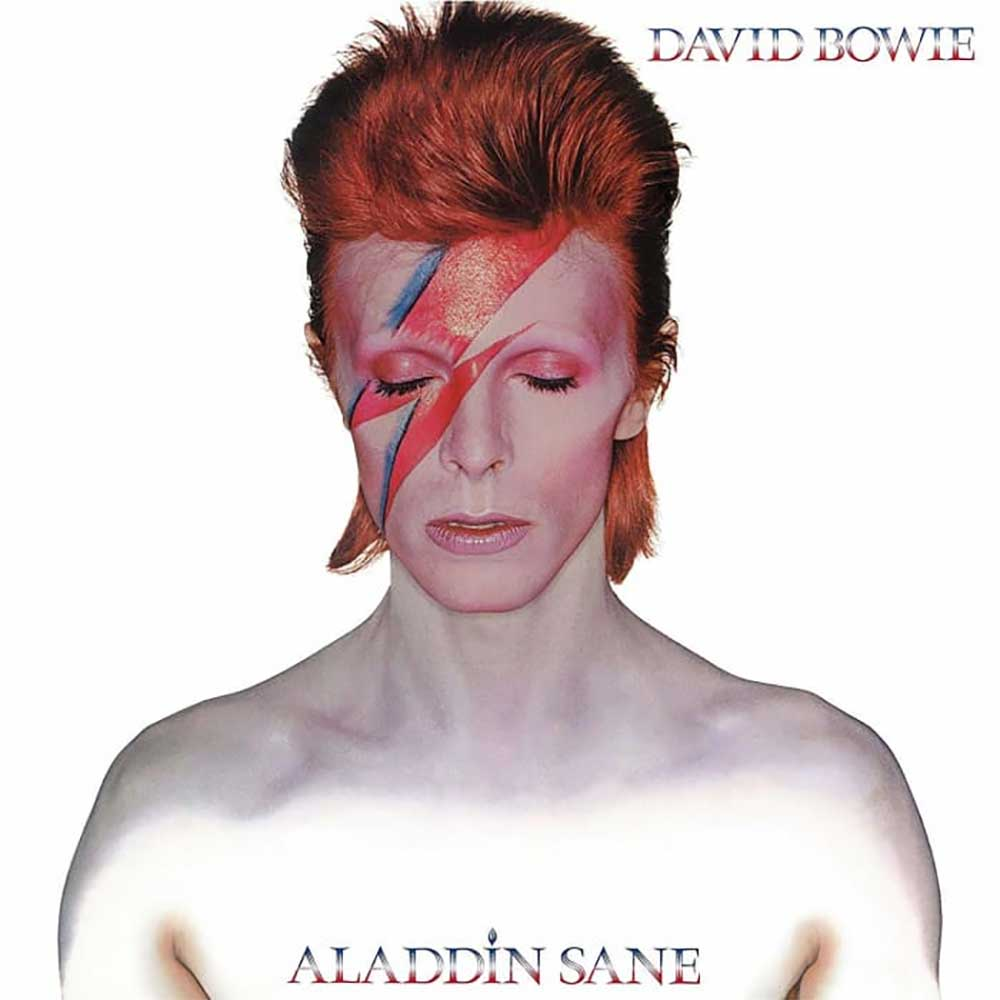 Albumcover mit jeweils exakt einer Veränderung drin 02_David-Bowie_Alladin-Sane_FAELSCHUNG