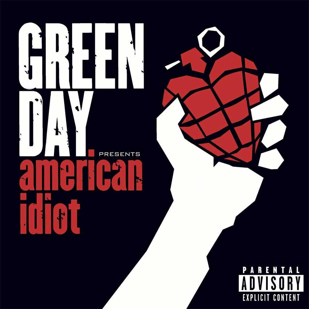 Albumcover mit jeweils exakt einer Veränderung drin 09_Green-Day_American-Idiot_FAELSCHUNG