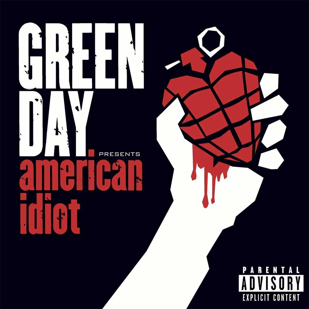 Albumcover mit jeweils exakt einer Veränderung drin 09_Green-Day_American-Idiot_ORIGINAL