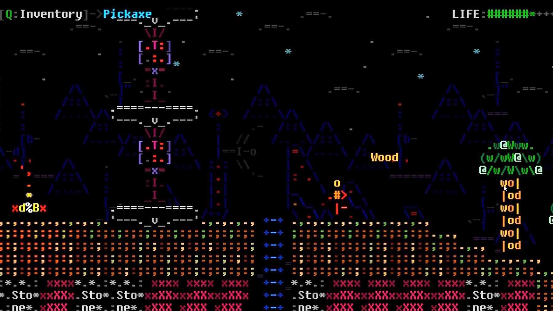 """Jump'n'Run im Ascii-Stil: """"ASCIIDENT"""" ASCIIDENT-ASCII-GAME-1"""