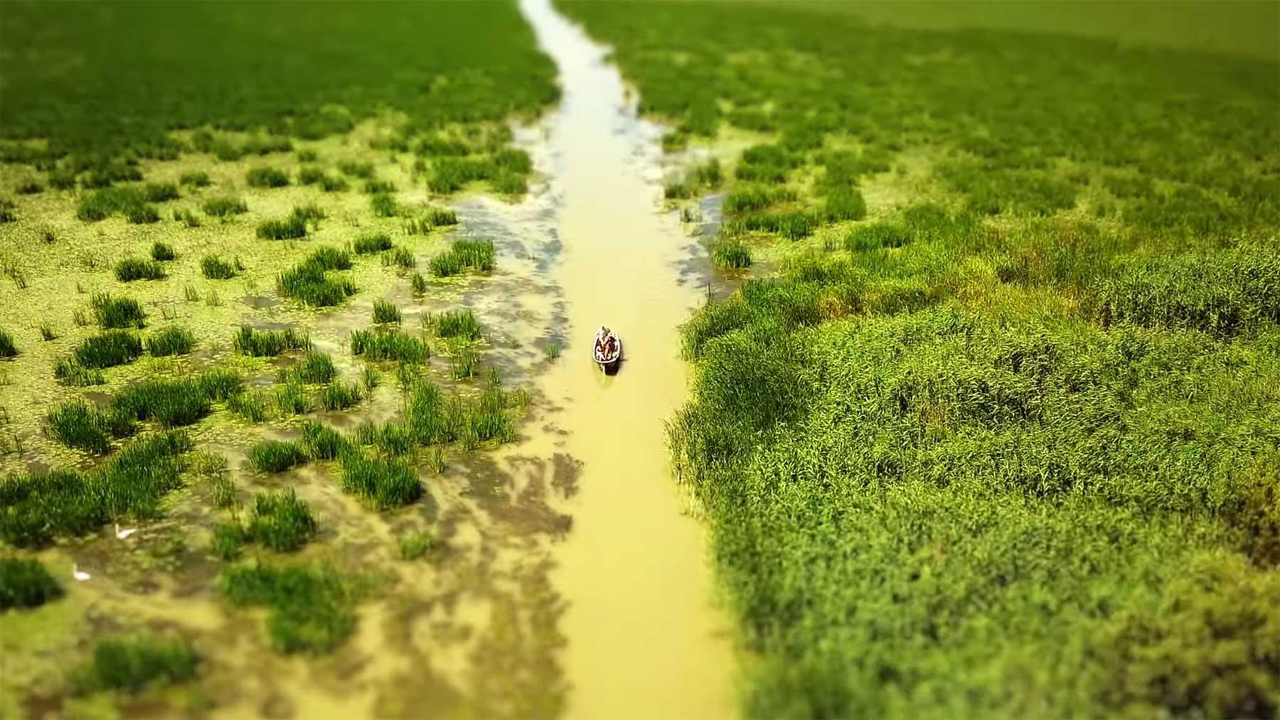 """Tilt-Shift: """"Danube Delta Romania"""" Danube-Delta-Romania-in-4k"""
