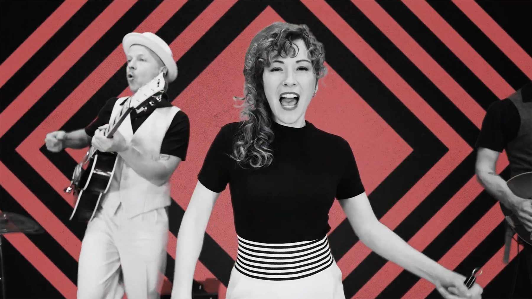 "Musikvideo: Marina & The Kats – ""Pressure"""