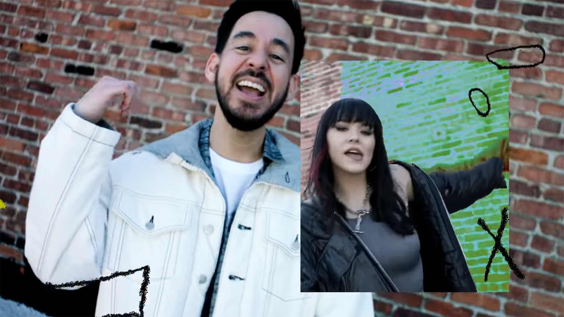 "Musikvideo: Mike Shinoda ft. iann dior & UPSAHL - ""Happy Endings"" Mike-Shinoda-Happy-Endings-musikvideo"