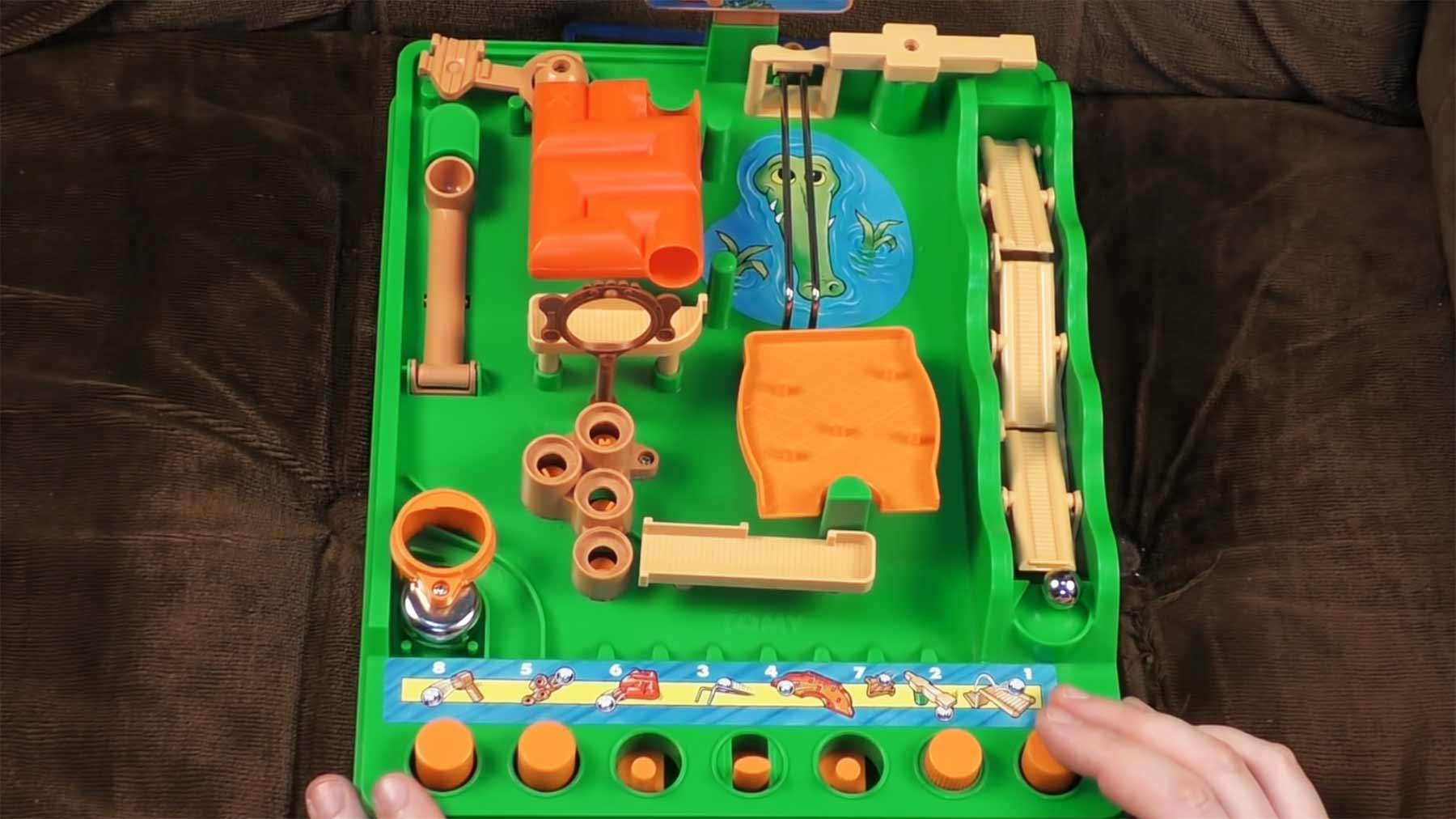 """Murmel-Geschicklichkeits-Spiel """"Screwball Scramble"""""""