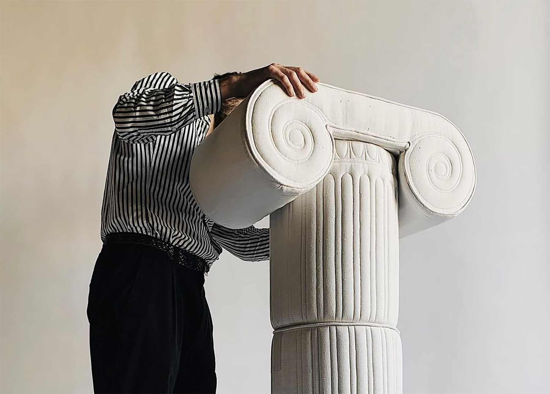 Plüsch-Skulpturen von Sergio Roger