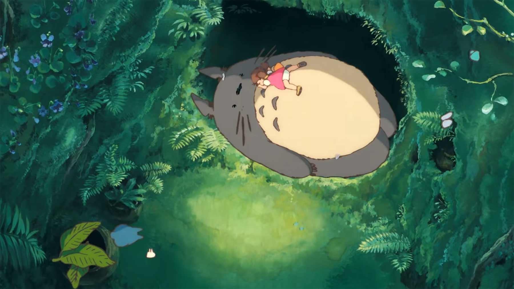 30 Minuten entspannende Animationen von Studio Ghibli