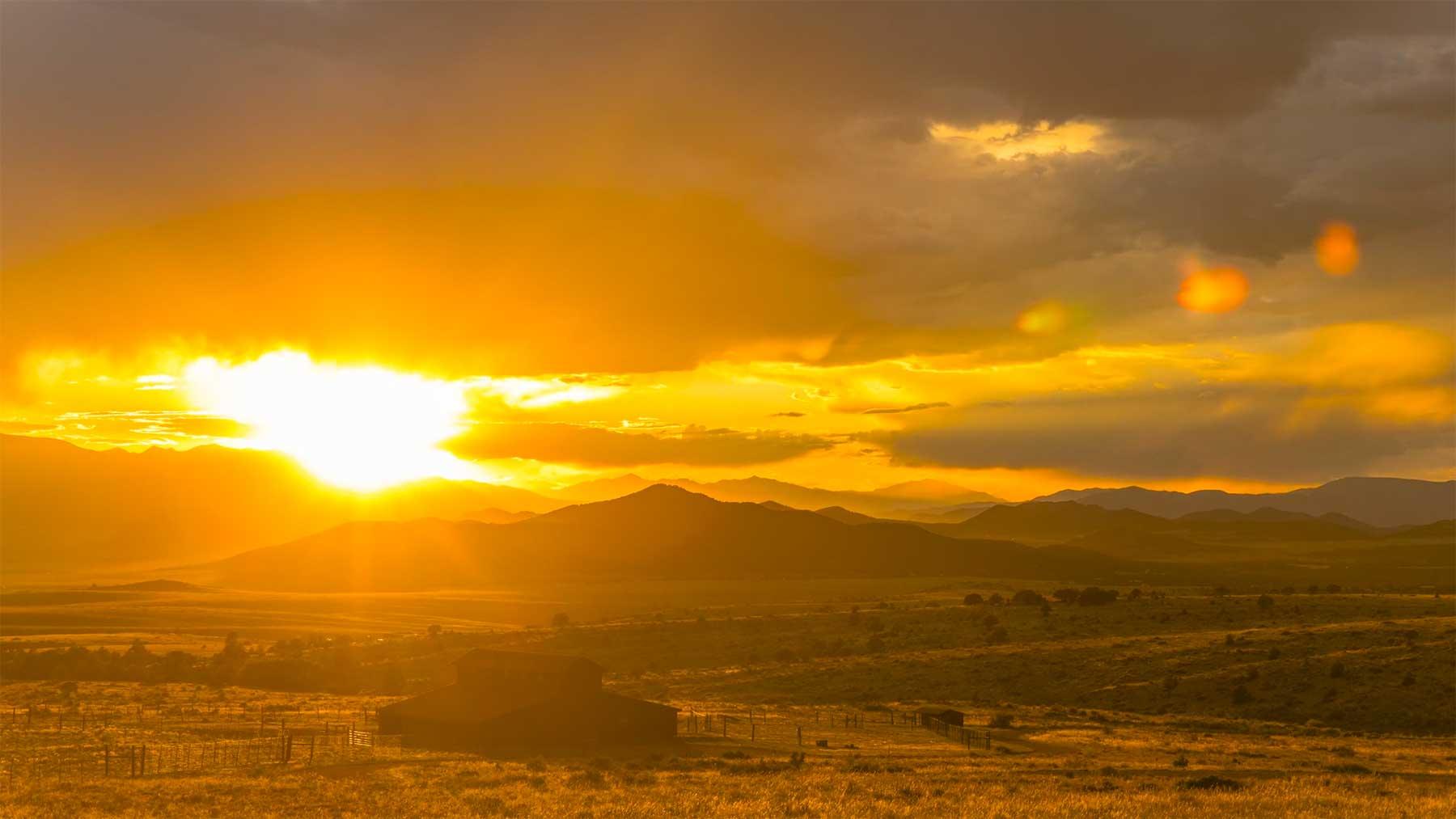 """Wunderschöne Zeitraffer-Aufnahmen: """"Wet Mountain Valley"""""""