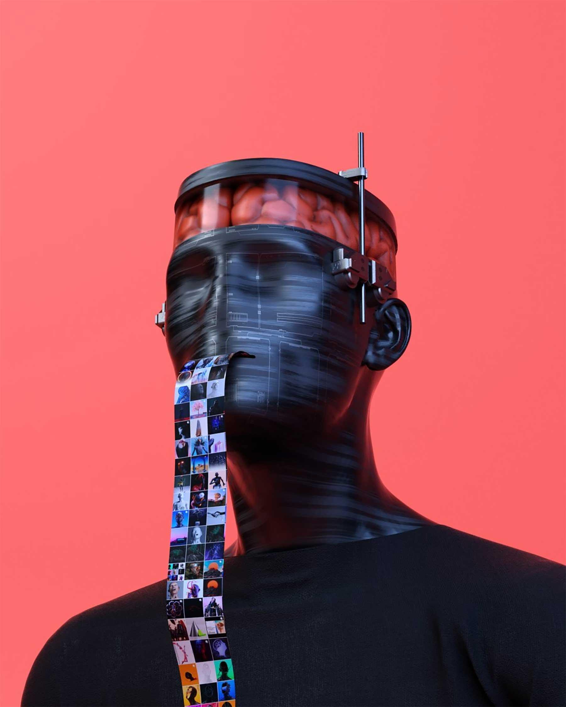 Digitalkunst von Auguste Lefou