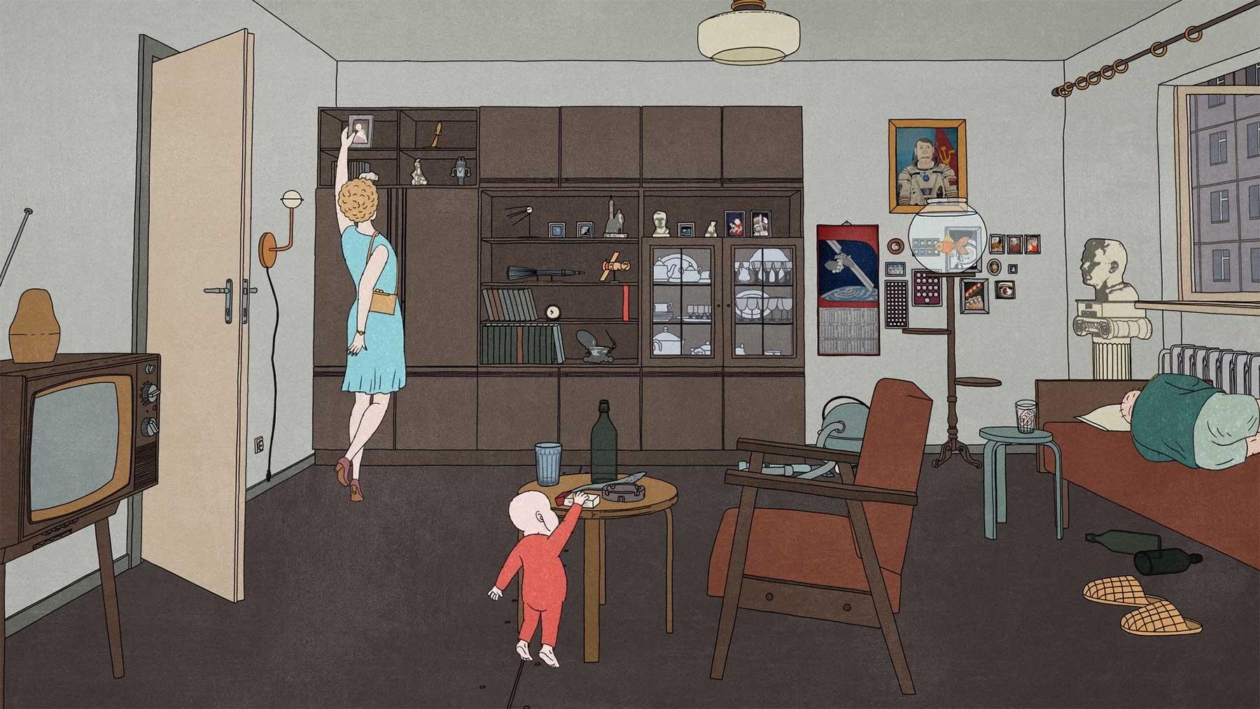 """Animierter Kurzfilm: """"Kosmonaut"""""""